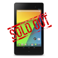 Google Nexus 7 already sold out at Staples with 32GB model now on 3 to 4 week back order at Amazon