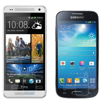 HTC One mini vs Galaxy S4 mini, HTC One and more: size comparison