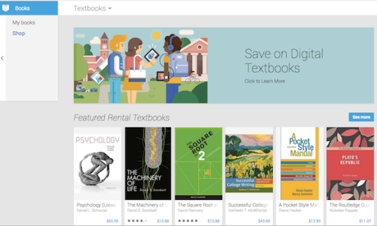 Textbooks reach Google Play Books in the US | Pocketnow