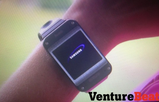 Is this the Samsung Galaxy Gear smart watch? | Android Central