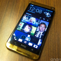 A hands-on with the 18-carat golden HTC One now a reality